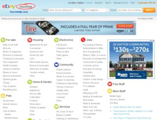 dayton.kijiji.com screenshot