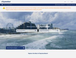 daytona-beach.cityseekr.com screenshot