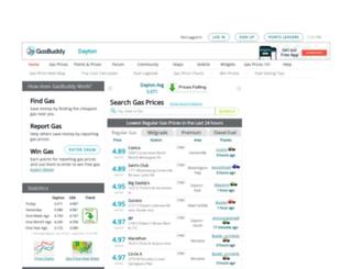 daytongasprices.com screenshot