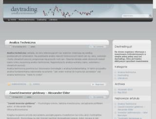 daytrading.pl screenshot