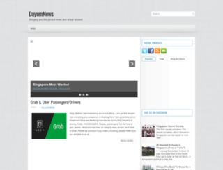 dayumnews.blogspot.sg screenshot