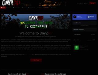 dayzrp.com screenshot