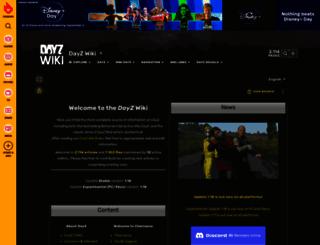 dayzwiki.com screenshot