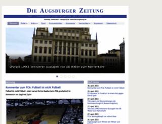 daz-augsburg.de screenshot