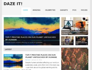 dazeit.com screenshot