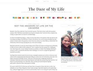 dazeofmylife.com screenshot