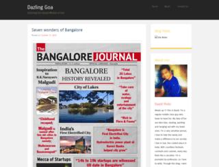 dazlinggoa.wordpress.com screenshot