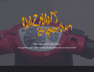 dazman.info screenshot