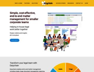 dazychain.com screenshot