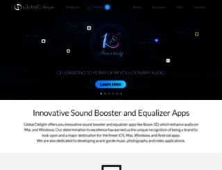 dazzle.globaldelight.com screenshot