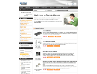 dazzlegames.com screenshot