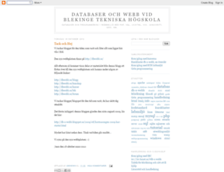 db-o-webb.blogspot.se screenshot