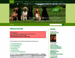 db.drc.de screenshot