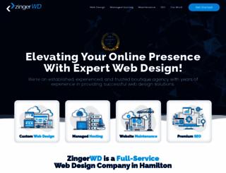 db.zingerwebdesign.net screenshot