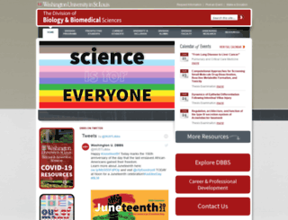 dbbs.wustl.edu screenshot