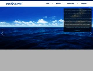 dbcoceanic.com screenshot