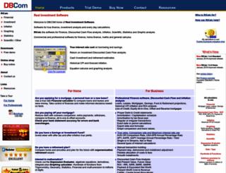 dbcom.com.au screenshot