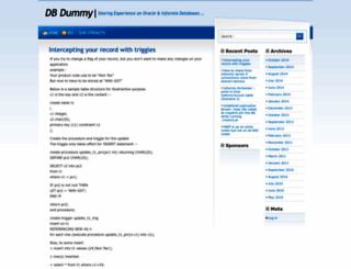 dbdummy.com screenshot
