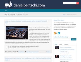 dbertschi.hs-sites.com screenshot