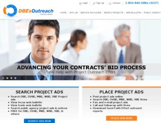 dbesoutreach.com screenshot