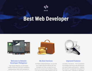 dbestwebdeveloper.com screenshot