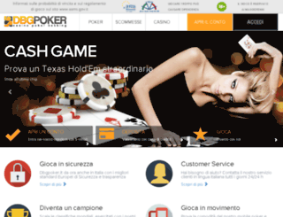 dbgpoker.it screenshot