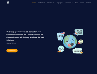 dbgroupintl.com screenshot