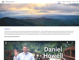 dbhowell.com screenshot