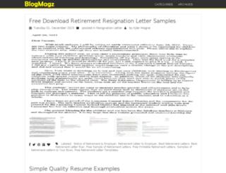 dblogmagazine.net screenshot