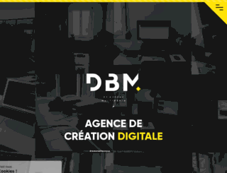 dbm-agence.net screenshot
