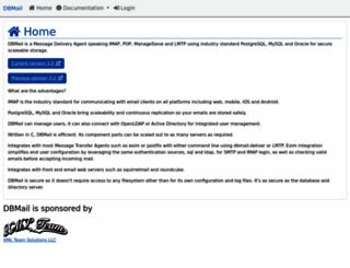 dbmail.org screenshot