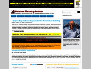 dbmarketing.com screenshot