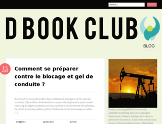 dbookclub.com screenshot