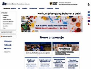 dbp.wroc.pl screenshot