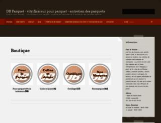 dbparquet.fr screenshot