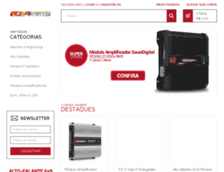 dbrparts.com.br screenshot