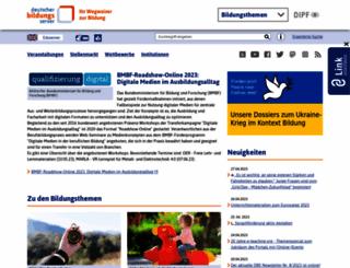 dbs.schule.de screenshot