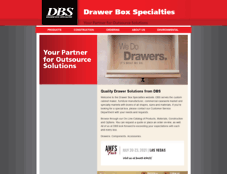 dbsdrawers.com screenshot