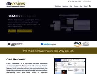 dbservices.com screenshot
