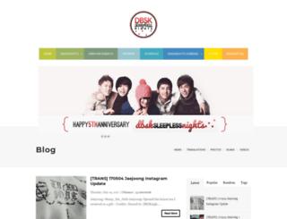 dbsknights.blogspot.com screenshot