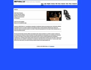 dbsprelims.com screenshot