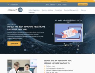 dbtech.com screenshot