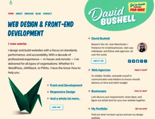 dbushell.com screenshot