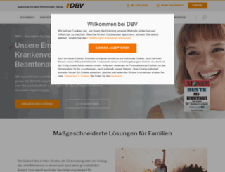 dbv.de screenshot