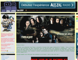 dbz-bt3.allmyblog.com screenshot