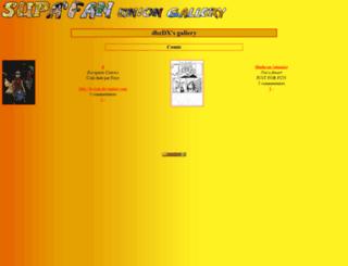 dbzfanfik.supafan.net screenshot