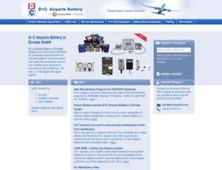 dc-airparts.de screenshot