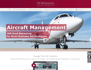 dc-aviation.com screenshot