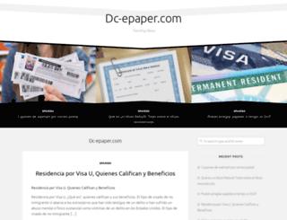 dc-epaper.com screenshot