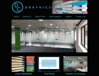 dc-graphics.co.uk screenshot